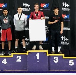Peterson '19 Wins USA Wrestling Preseason Nationals